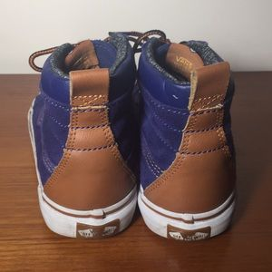 Vans Shoes - Vans MTE Blue High top Sneakers Suede Kids 6